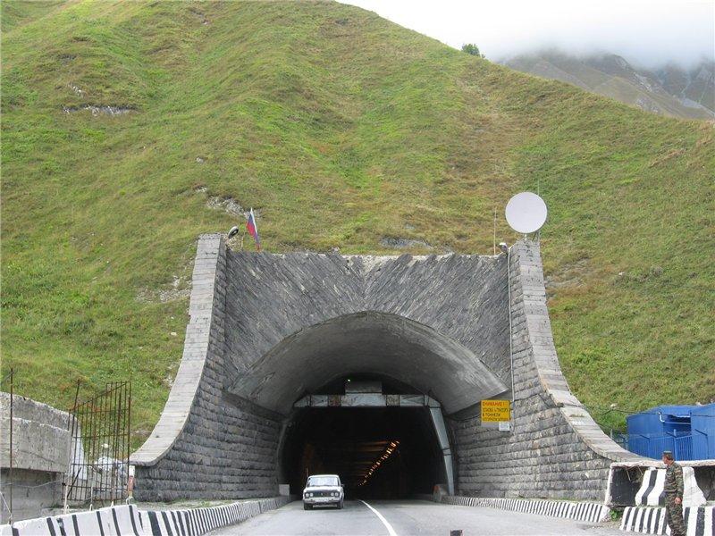 Схема рокского тоннеля